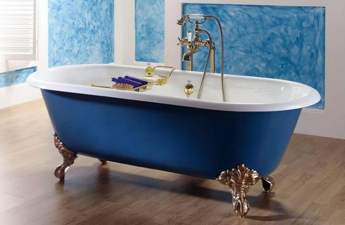 Достоинства чугунных ванн