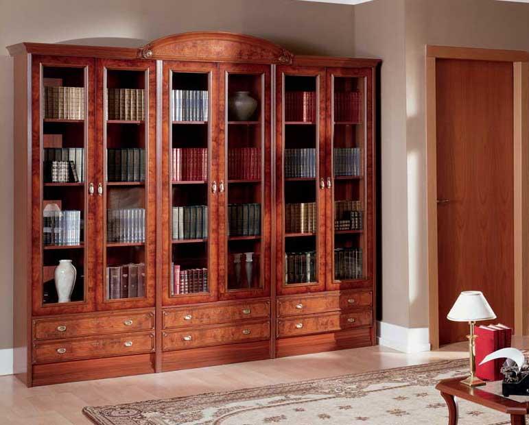 Практичная библиотечная мебель