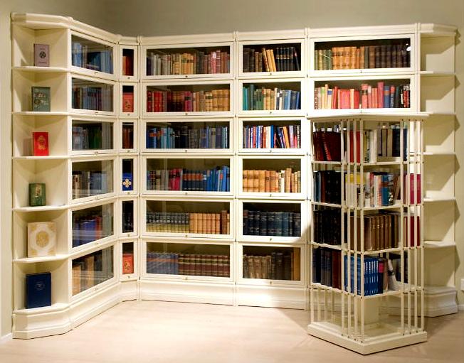 Высокое качество мебели для библиотеки