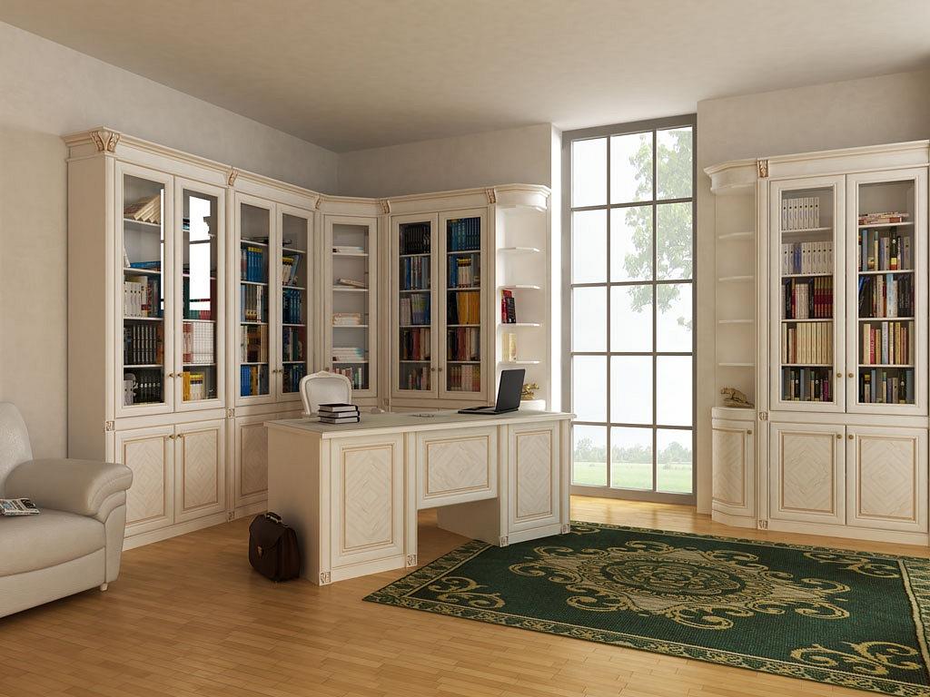 """Красивая мебель для библиотеки """" жилая недвижимость."""