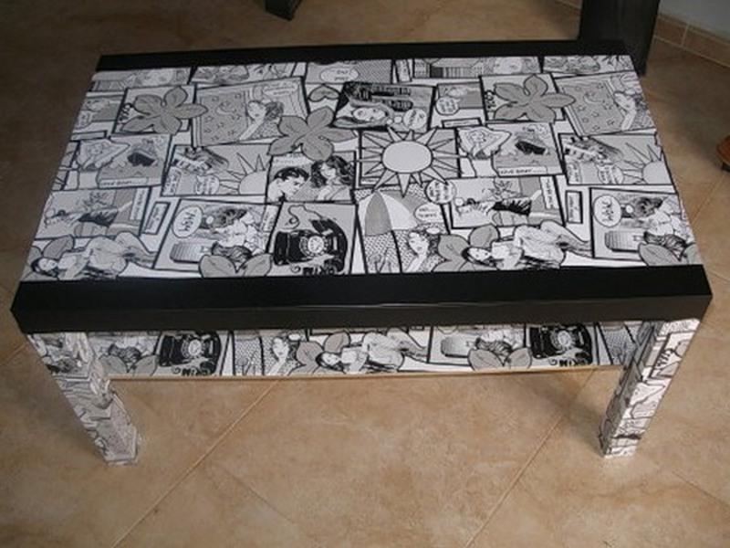 Советы для декупажа мебели