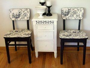 Реставрация мебели техникой декупаж