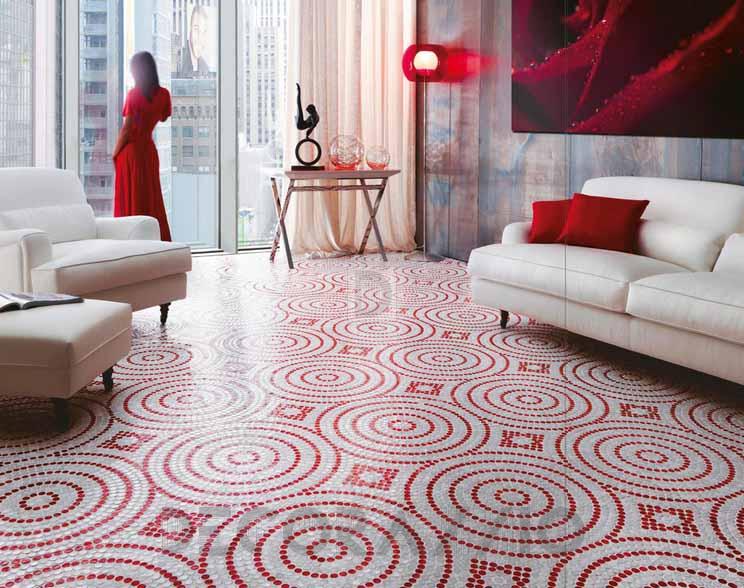 Керамический ковер мозаики Sicis
