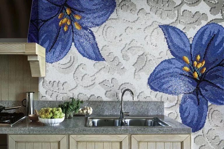 Элементы декора мозаики Sicis