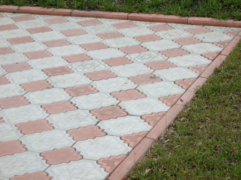 Подбор цвета тротуарной плитки