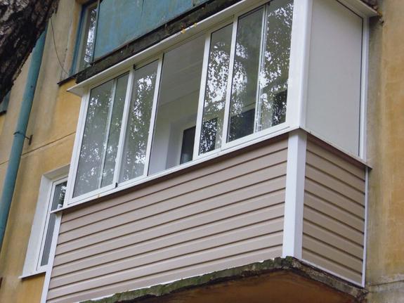 Формы основания балкона