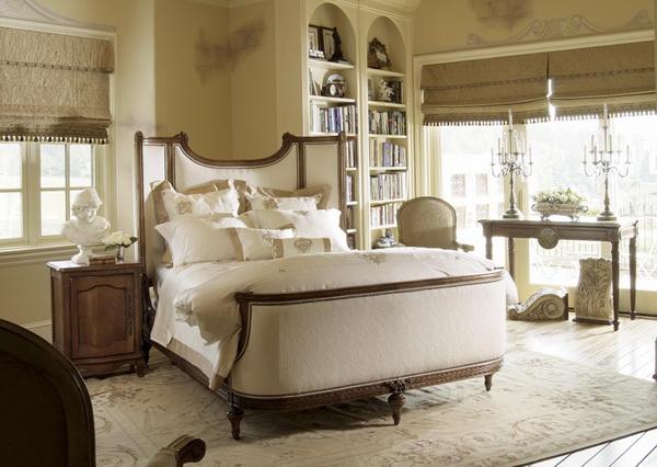 Особенности стиля шато для спальни