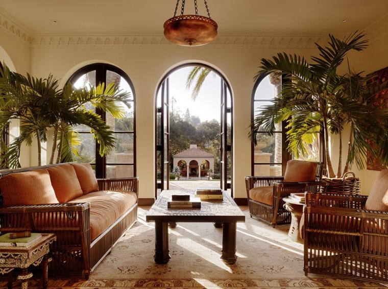 Особенности оформления гостиной в колониальном стиле