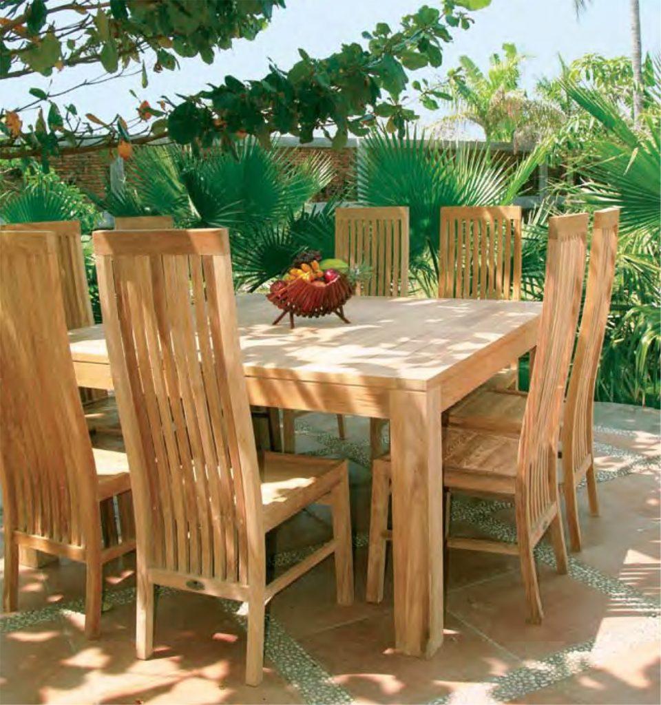 Итальянская садовая мебель