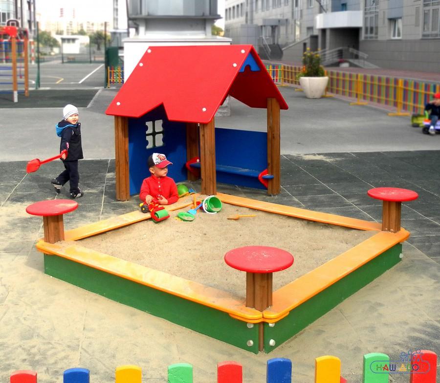 Игровая детская песочница