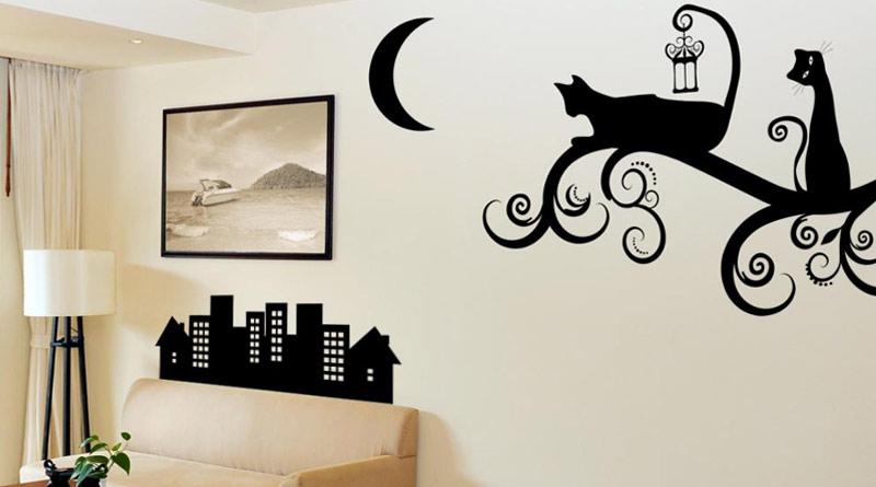 Виниловые наклейки для обновления обстановки квартиры