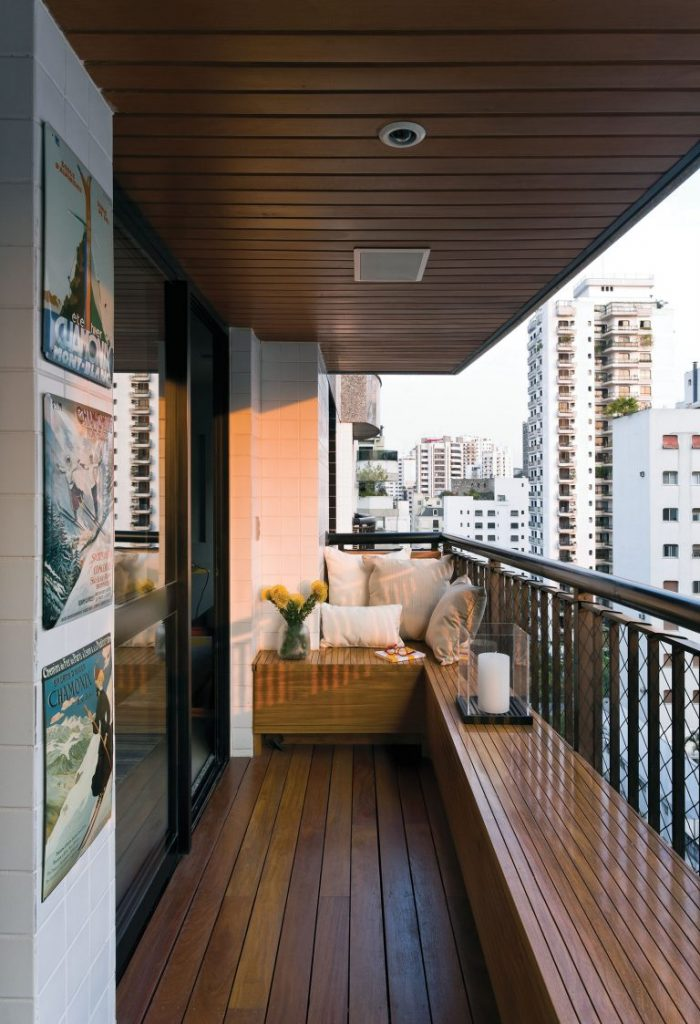 Проекты балконов и лоджий