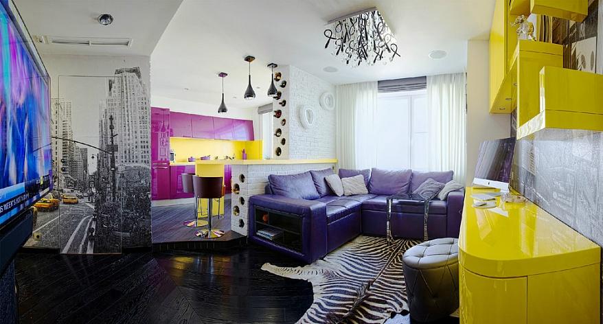 Квартира в стиле китч