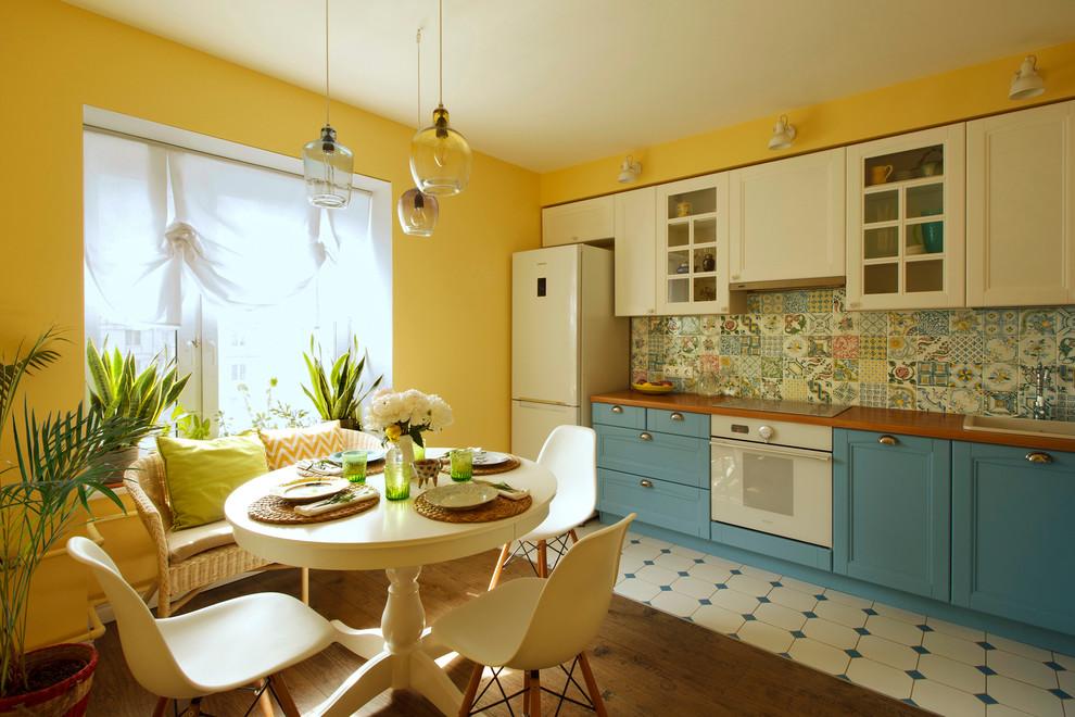Создание дизайна кухни столовой