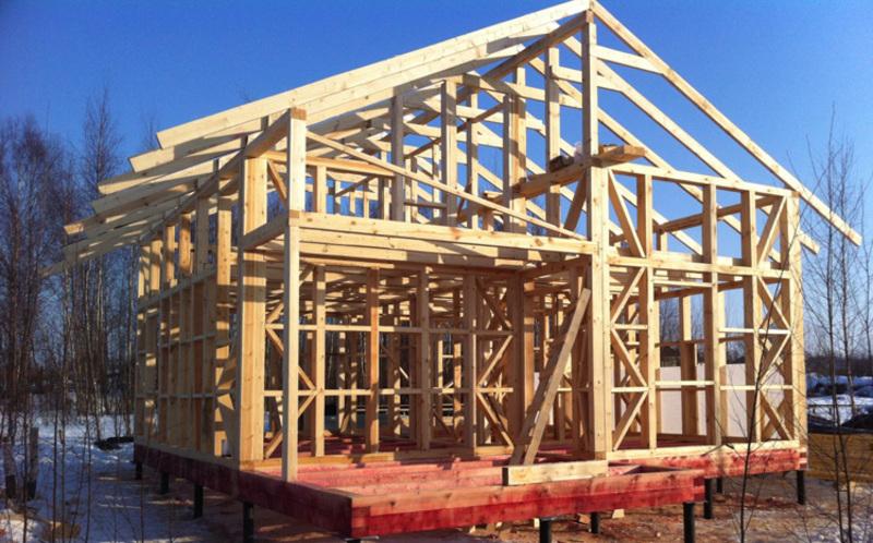 Успешное строительство каркасного дома