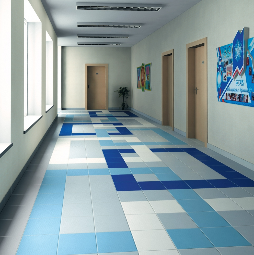 Современное напольное покрытие для разных комнат