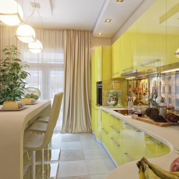 Неповторимый дизайн интерьера маленькой кухни