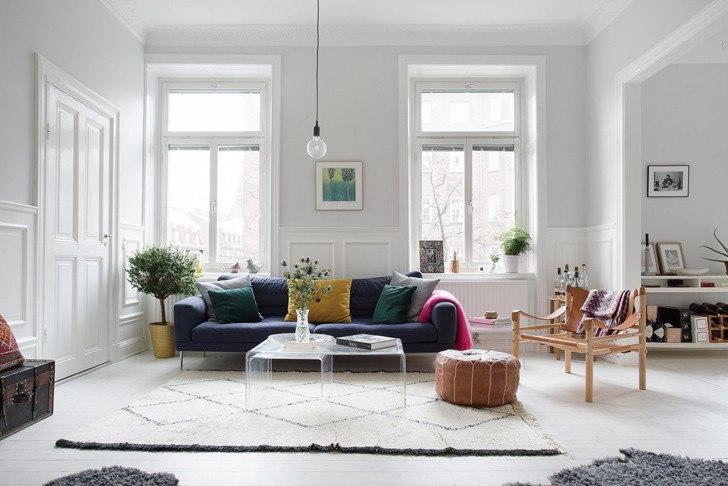 Цветовые предпочтения в скандинавском интерьере