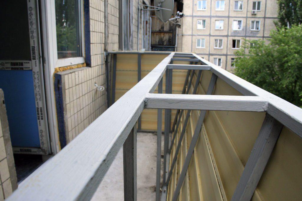 Конструкции лоджий и балконов
