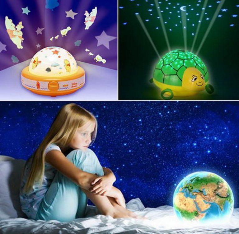 Выбираем ночник для ребенка
