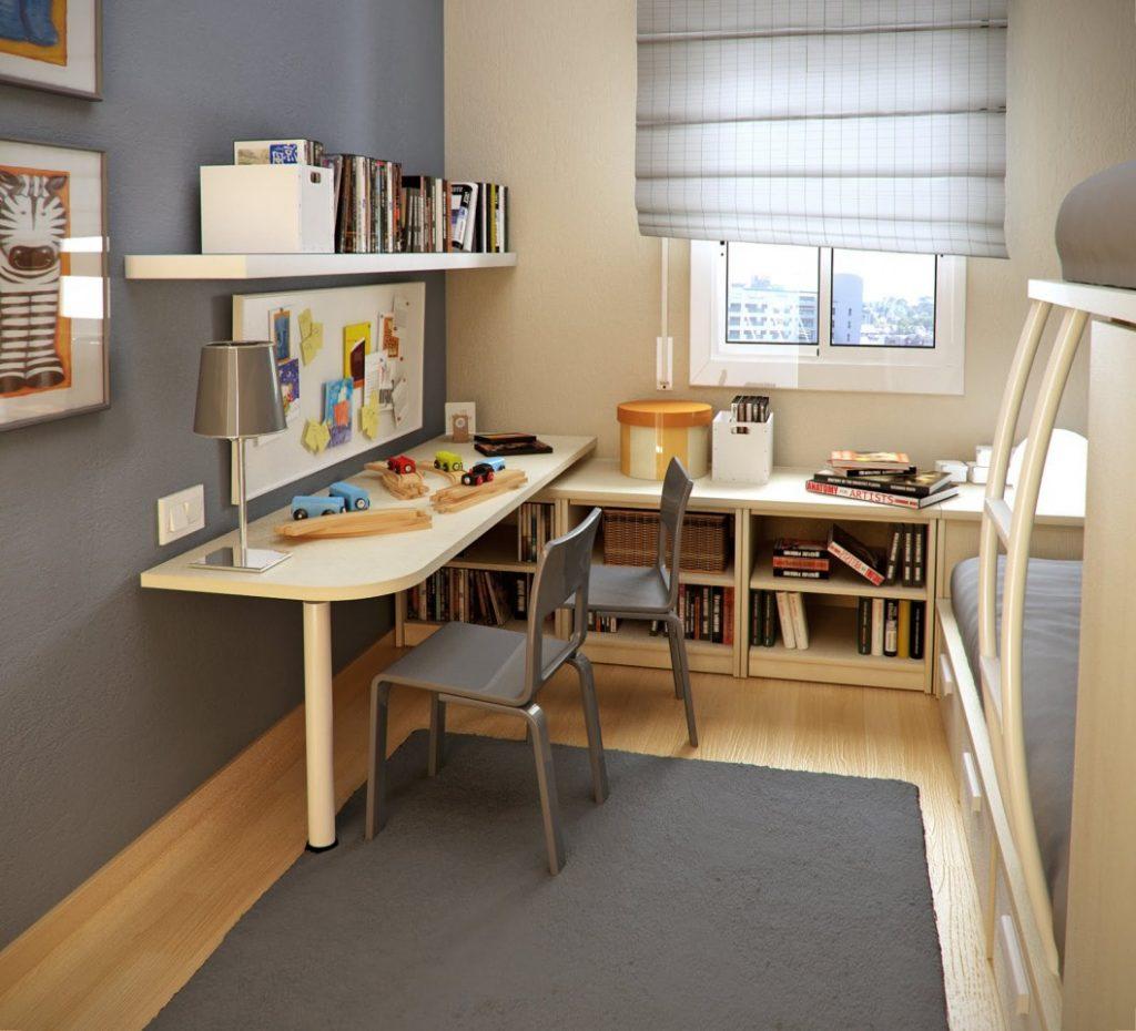 Практичная зона для учебы школьника