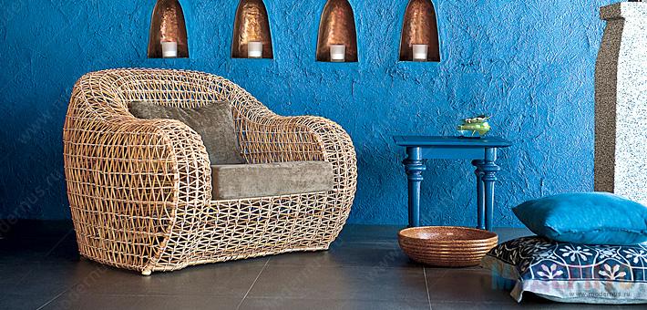 Практичная мебель из ротанга