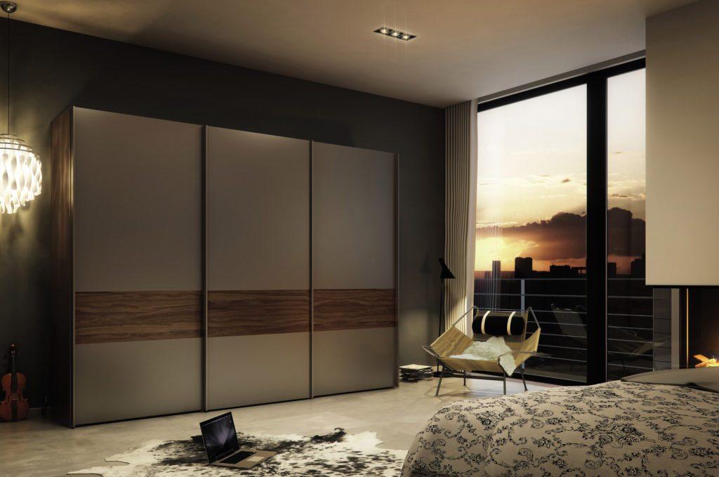 Шкафы-купе в интерьере квартиры