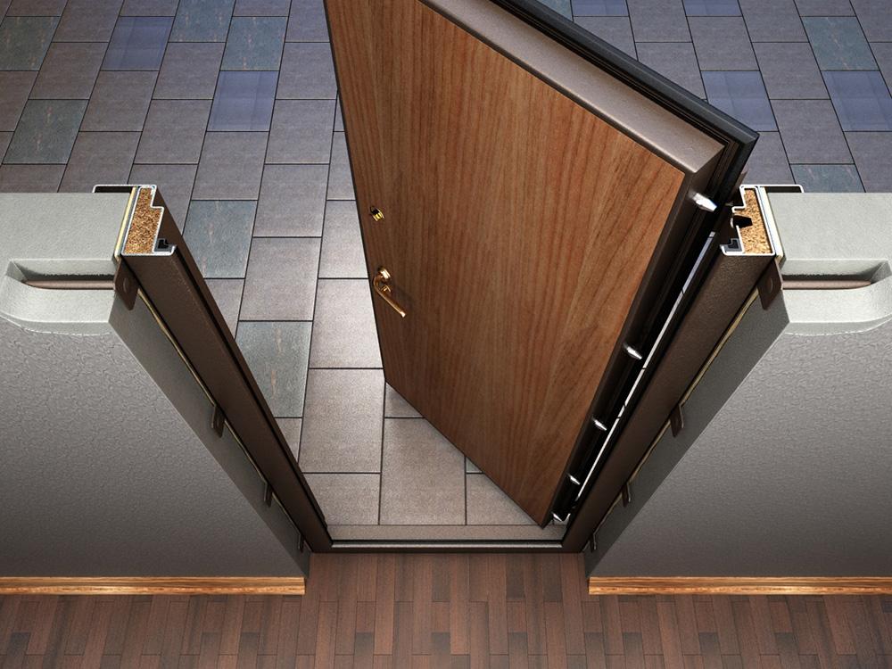 Отличия металлических дверей от деревянных