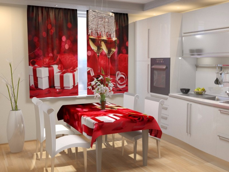 Романтика на кухне - о декорировании