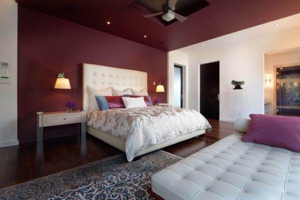 Цвет стен в интерьере спальни