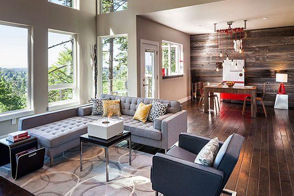 Элементы интерьера современной гостиной