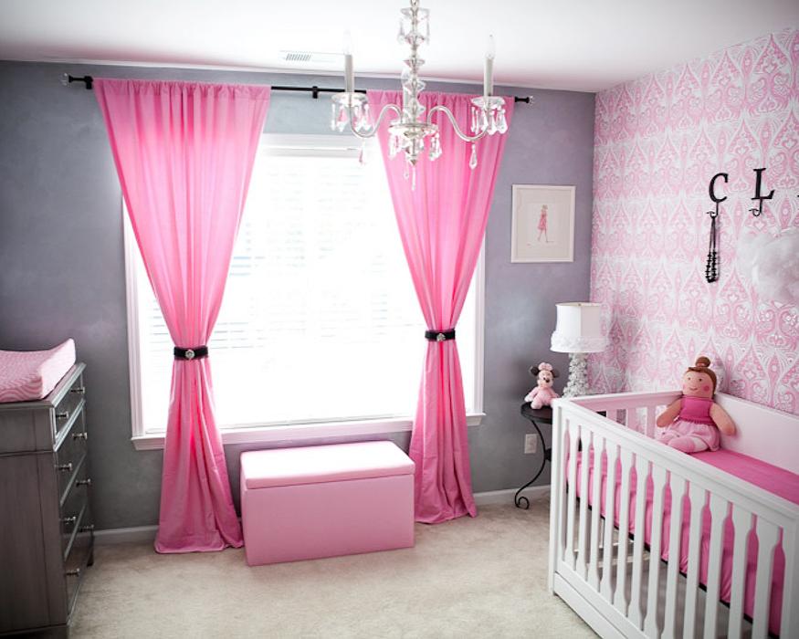 Какого цвета шторы выбрать для детской?