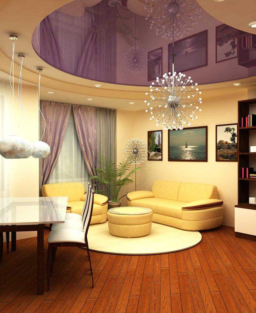 Почему используют подвесные потолки?