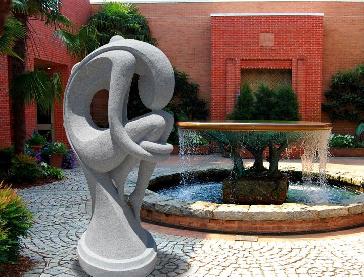 Декоративные фонтаны в моде