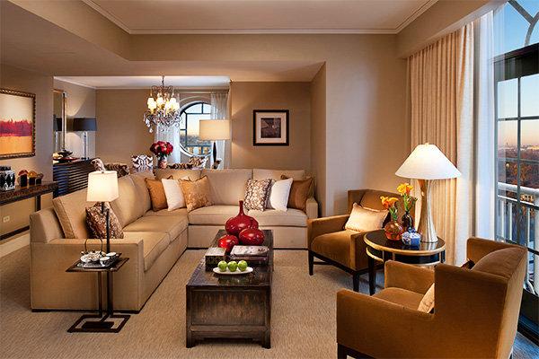 Гостиная комната – выбираем цвет