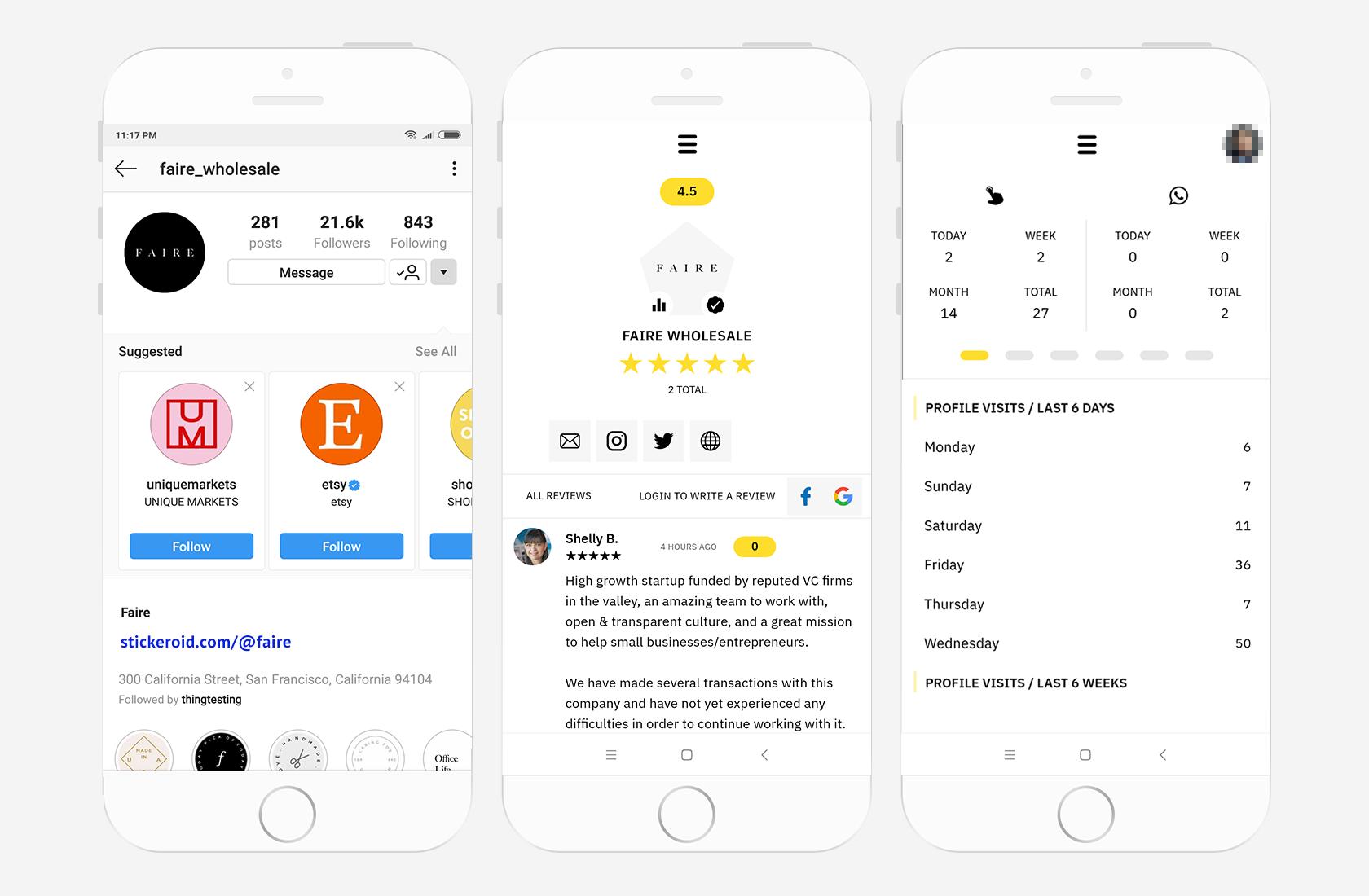Stickeroid — интересный проект российских разработчиков